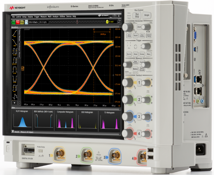 Keysight S-Series oscilloscope