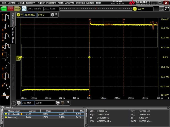 Keysight Fourier Series on a Keysight Infiniium oscilloscope